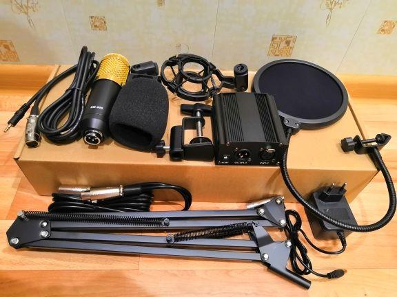Конденсаторный микрофон BM 800 полный комплект