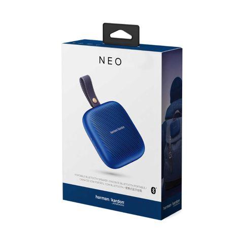 Coluna portátil Neo Azul Harman Kardon NOVO - Garantia 12 meses