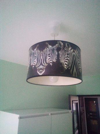 Lampa wisząca na 1 żarówkę