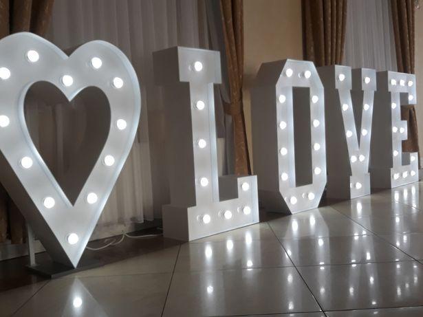 Sprzedam Napis Love 120 cm świecące love