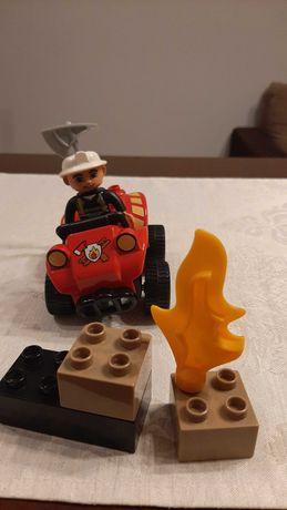 Zestaw LEGO DUPLO Strażak zwiadowca na Quadzie