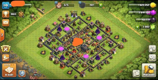 Clash of clans 10 тх 108 лвл + 8 tx 80 лвл