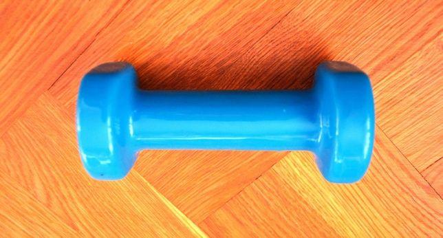 Hantel Pilates 1,5 kg DOMYOS w kolorze niebieskim tanio