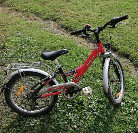 "M bike aluminium 20"" gratis niebieski kask z decathlon"