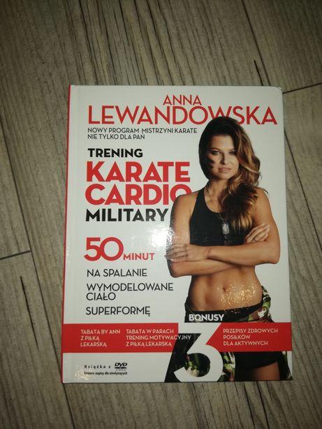 Płyta z treningiem Anny Lewandowskiej Karate Cardio