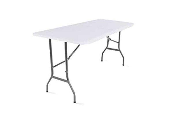Садовый столик стол стіл MobEventPro 180 x 70 x 74 см, белый складной