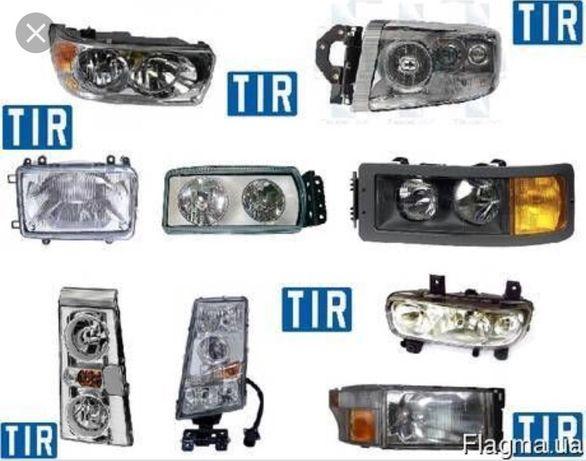 Фара лінза Реставрація, ремонт фар,  Volvo FH,FM, Premium, DAF Man