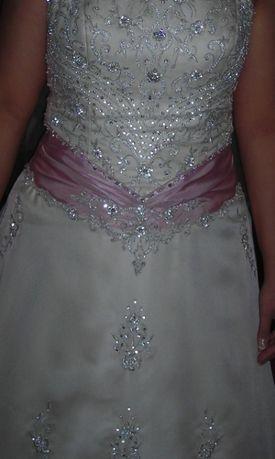 Suknia slubna rozmiar od 42-46 firmy ASPERA model PRELUDIA (Szwecja)