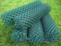 Siatka ogrodzeniowa wys. 150 cm Powlekana 2/3,2 Oczko 55x55