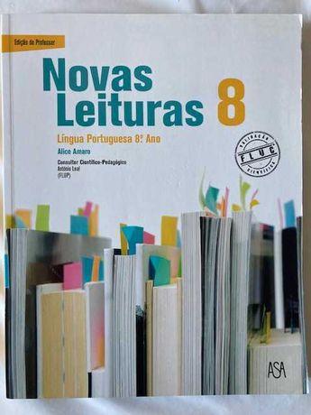 Novas Leituras 8, Língua Portuguesa 8º ano - Pack do Professor