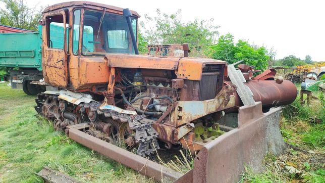 Бульдозер ДТ-75 гусеничный
