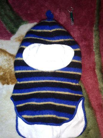 Зимняя шапка-шлем Lenne на 2- 3 года