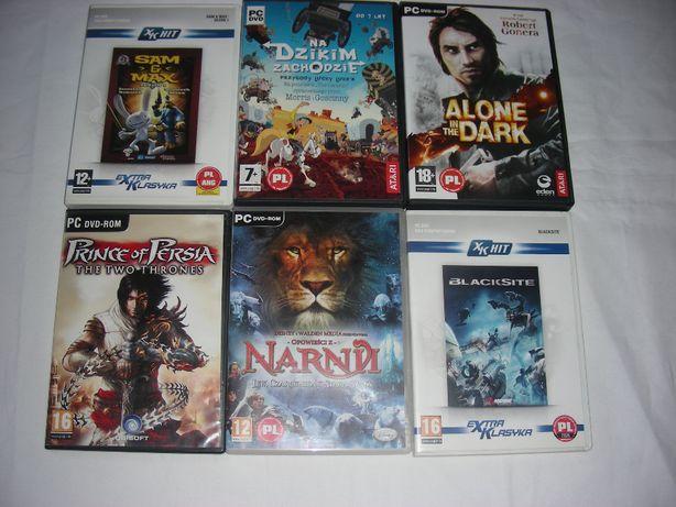 Gry PC Lucky Luck, Opowieści z Narnii, Sam i Max, Alone In The Dark i