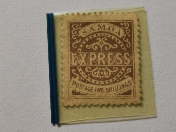 Samoa znaczek pocztowy czysty lata 1877 do 82