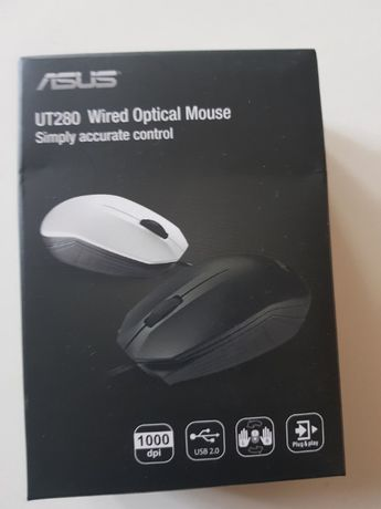 Mysz ASUS UT280 (Czarna)