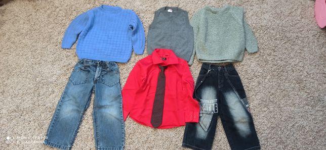 Пакет тёплой одежды на мальчика р. 104-110 см