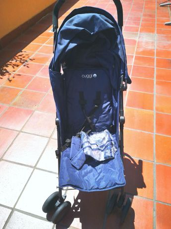 Carrinho bebé + capa chuva + saco Inverno