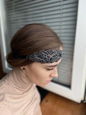Повязка на голову, украшение для волос вечеринка в стиле Гетсби Гэтсби