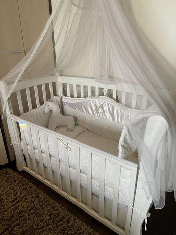 Бортики постельное в кроватку для ребенка