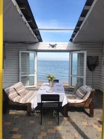 Затока семейный отдых, жилье недорого, море 4 мин, лиман свой пляж