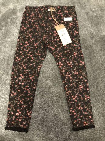 Legginsy spodnie newbie 104 nowe