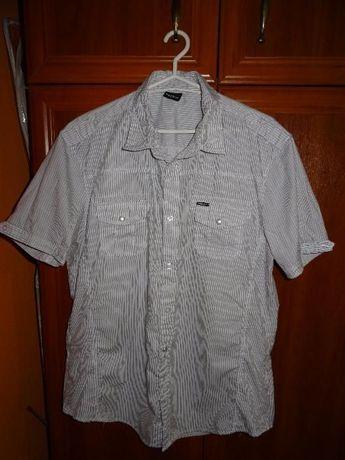 koszula damska w paseczki CLOCKHOUSE C&A roz xl 42/44