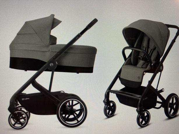 Wózek Cybex Balios S 2w1 Gondola + Spacerowka Szary