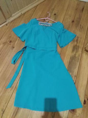 Нове бірюзове плаття