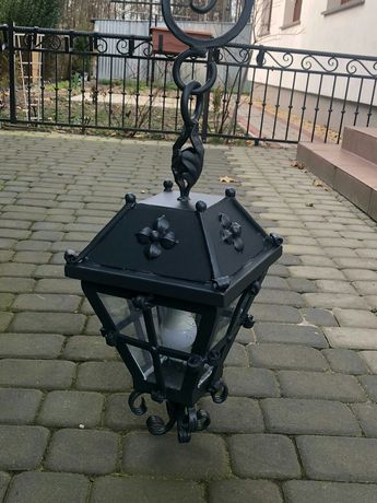 Lampa ogrodowa wiszaca
