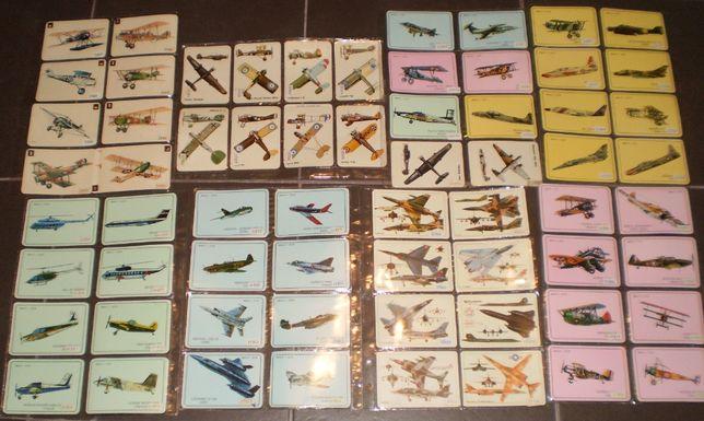 Calendários Bolso Tema Aviação Aviões da Década 80