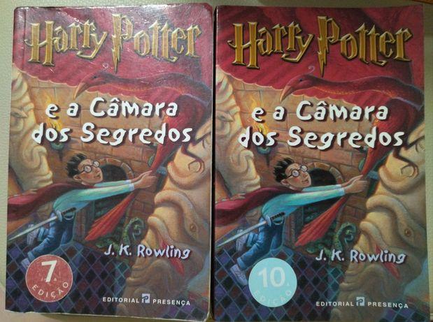 Harry Potter e a Câmara dos segredos- 7 e 10 edição