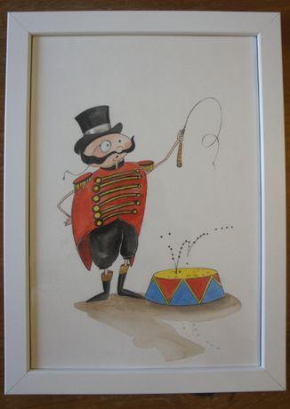 Ilustrações infantis com moldura