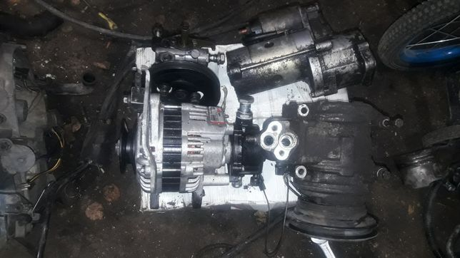 Стартер генератор гур компресор кондиціонера мітсубісі паджеро 2  2.5