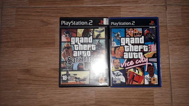 Pack Jogos GTA PS2