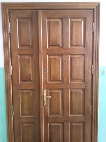 Drzwi wejsciowe debowe