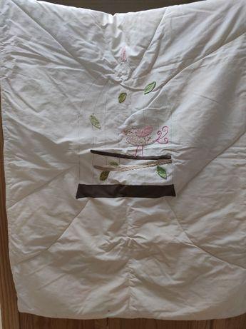Colcha para cama de grades
