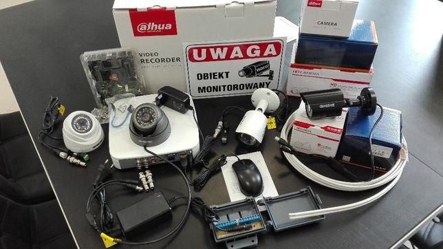 Kompletny Monitoring Kenik 4 Kamery 2mpx Full HD Detekcja Podgląd P2P