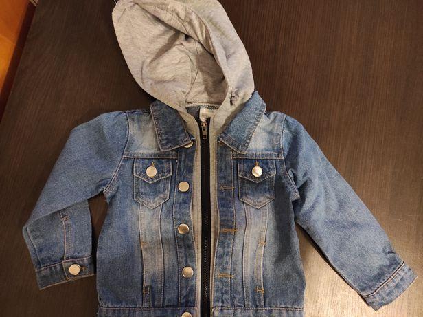 Kurtka jeansowa 86