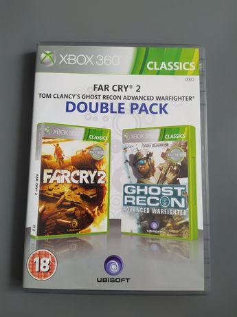 Xbox360 FarCry2 oraz Ghost Recon