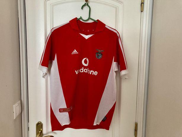 Camisola S. L. Benfica - Época 2001/2002 - Tamanho S