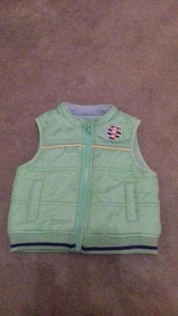 Bezrekawnik Sweter Bluza