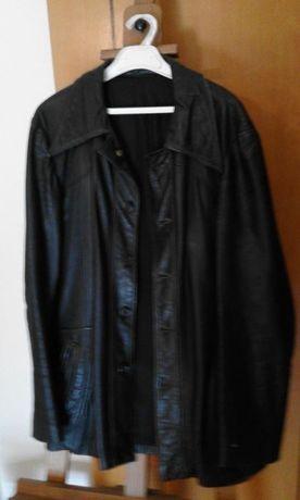 Casaco de Pele para Homem Vintage