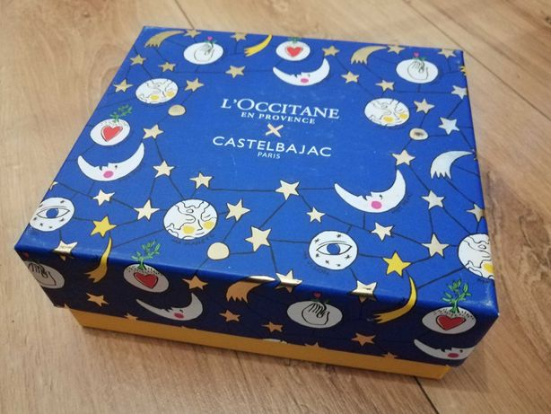 Loccitane pudełko krem peeling olejek do paznokci + gratis