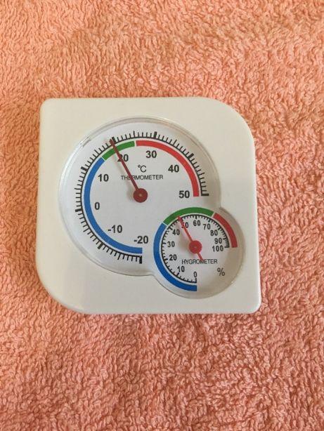 Механический градусник-влагомер термометр-гигрометр на подставке