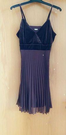 Vestido castanho novo tamanho M