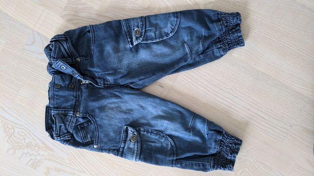 Детские джинсы, синего цвета europe kids, длина 50 см
