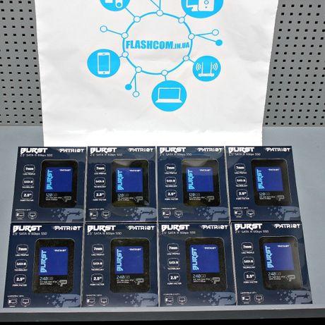 Высокоскоростной SSD 120GB Patriot Burst (ноутбук, ПК). Гарантия 36мес