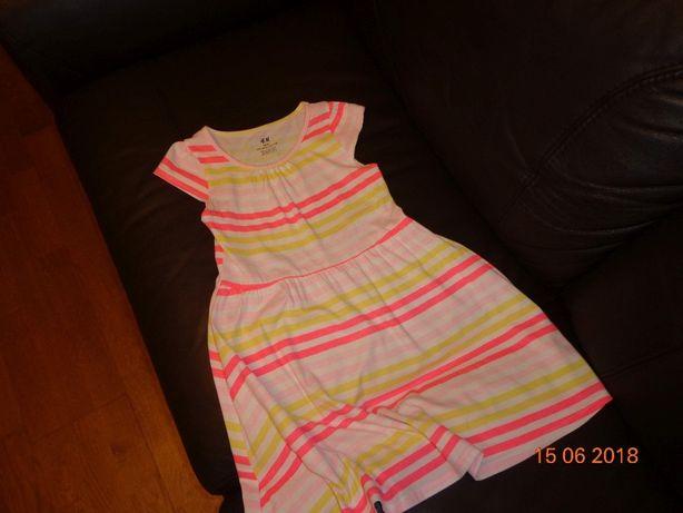 Sukienka H&M rozmiar 122/128