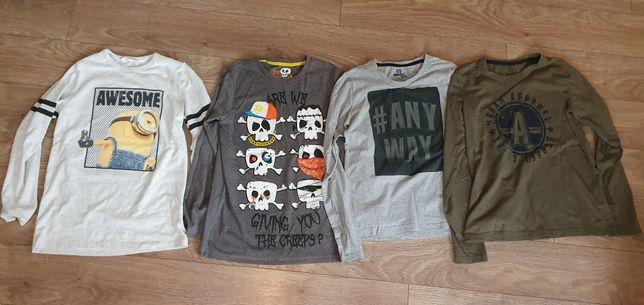 Koszulki chłopięce, długi rękaw, longsleeve 152-158