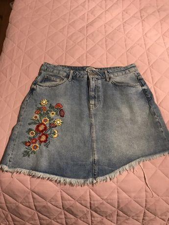Spodniczka jeans Zara